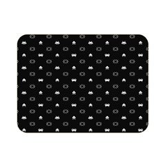 Space Black Double Sided Flano Blanket (Mini)
