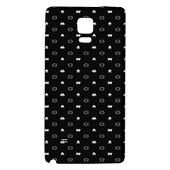 Space Black Galaxy Note 4 Back Case
