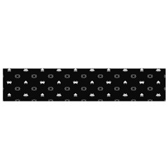 Space Black Flano Scarf (Small)