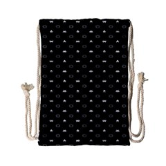 Space Black Drawstring Bag (Small)