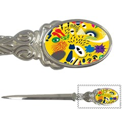 Yellow Eye Animals Cat Letter Openers