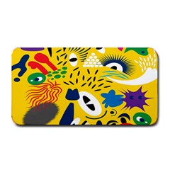 Yellow Eye Animals Cat Medium Bar Mats