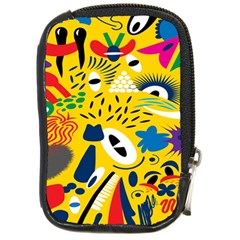 Yellow Eye Animals Cat Compact Camera Cases
