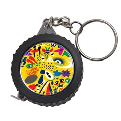 Yellow Eye Animals Cat Measuring Tapes