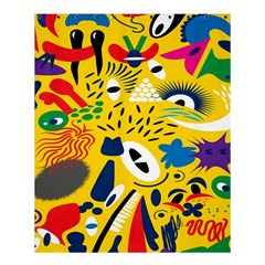 Yellow Eye Animals Cat Shower Curtain 60  x 72  (Medium)