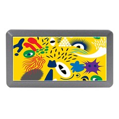 Yellow Eye Animals Cat Memory Card Reader (Mini)