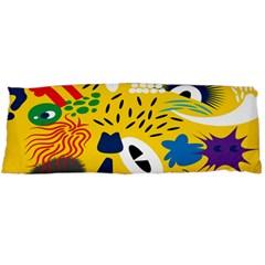Yellow Eye Animals Cat Body Pillow Case (Dakimakura)