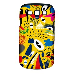 Yellow Eye Animals Cat Samsung Galaxy S III Classic Hardshell Case (PC+Silicone)