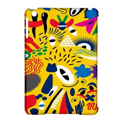 Yellow Eye Animals Cat Apple iPad Mini Hardshell Case (Compatible with Smart Cover)