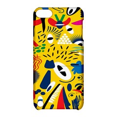 Yellow Eye Animals Cat Apple iPod Touch 5 Hardshell Case with Stand