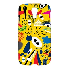 Yellow Eye Animals Cat Samsung Galaxy S4 I9500/I9505 Hardshell Case