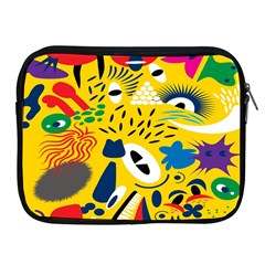 Yellow Eye Animals Cat Apple iPad 2/3/4 Zipper Cases