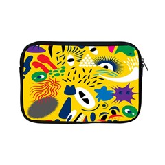 Yellow Eye Animals Cat Apple iPad Mini Zipper Cases