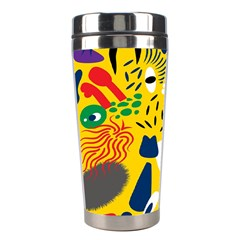 Yellow Eye Animals Cat Stainless Steel Travel Tumblers