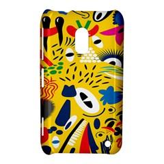 Yellow Eye Animals Cat Nokia Lumia 620