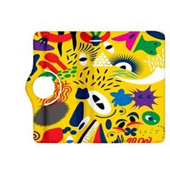 Yellow Eye Animals Cat Kindle Fire HDX 8.9  Flip 360 Case