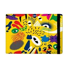 Yellow Eye Animals Cat iPad Mini 2 Flip Cases
