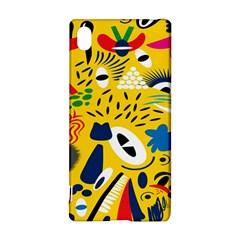 Yellow Eye Animals Cat Sony Xperia Z3+