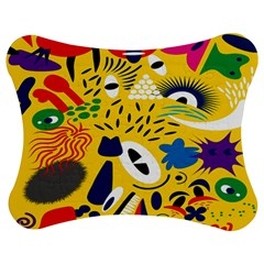 Yellow Eye Animals Cat Jigsaw Puzzle Photo Stand (Bow)