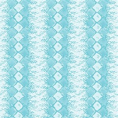 Snake Skin Blue Chevron Wave Magic Photo Cubes