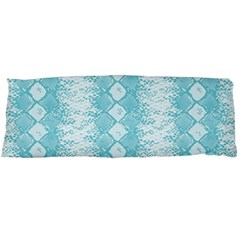Snake Skin Blue Chevron Wave Body Pillow Case (Dakimakura)
