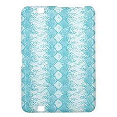 Snake Skin Blue Chevron Wave Kindle Fire HD 8.9