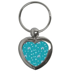 Space Astronaut Key Chains (Heart)