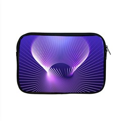 Space Galaxy Purple Blue Line Apple MacBook Pro 15  Zipper Case