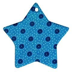 Shweshwe Fabric Ornament (Star)