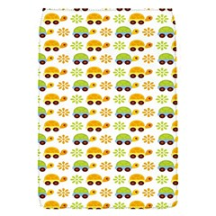 Turtle Green Yellow Flower Animals Flap Covers (s)