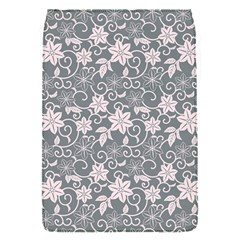 Gray Flower Floral Flowering Leaf Flap Covers (s)