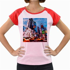 New York City Women s Cap Sleeve T Shirt
