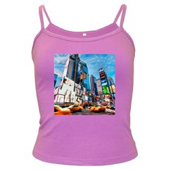 New York City Dark Spaghetti Tank