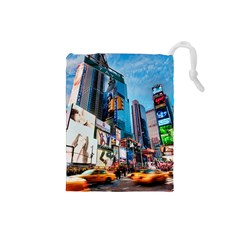 New York City Drawstring Pouches (small)