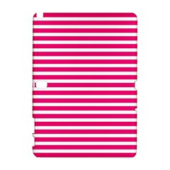 Horizontal Stripes Hot Pink Galaxy Note 1