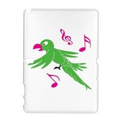 Parrot Bird Green Galaxy Note 1
