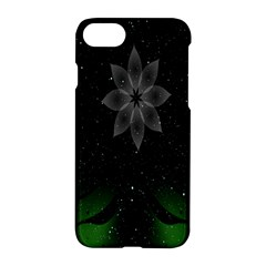 Night Sky Flower Apple iPhone 7 Hardshell Case