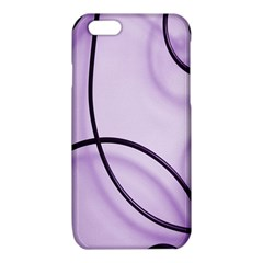 Purple Background With Ornate Metal Criss Crossing Lines iPhone 6/6S TPU Case