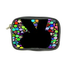 Prismatic Negative Space Comic Peace Hand Circles Coin Purse