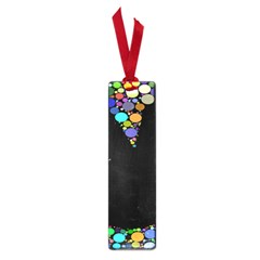 Prismatic Negative Space Comic Peace Hand Circles Small Book Marks
