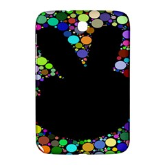 Prismatic Negative Space Comic Peace Hand Circles Samsung Galaxy Note 8.0 N5100 Hardshell Case