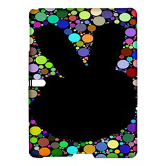 Prismatic Negative Space Comic Peace Hand Circles Samsung Galaxy Tab S (10.5 ) Hardshell Case