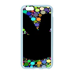 Prismatic Negative Space Comic Peace Hand Circles Apple Seamless iPhone 6/6S Case (Color)