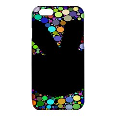 Prismatic Negative Space Comic Peace Hand Circles iPhone 6/6S TPU Case
