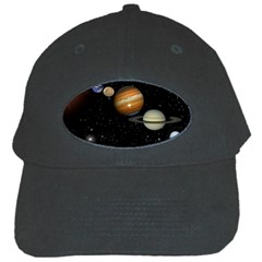 Outer Space Planets Solar System Black Cap