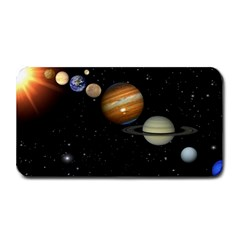 Outer Space Planets Solar System Medium Bar Mats