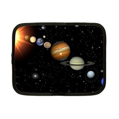 Outer Space Planets Solar System Netbook Case (small)