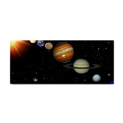 Outer Space Planets Solar System Cosmetic Storage Cases