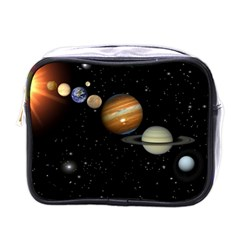 Outer Space Planets Solar System Mini Toiletries Bags