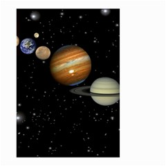 Outer Space Planets Solar System Small Garden Flag (two Sides)